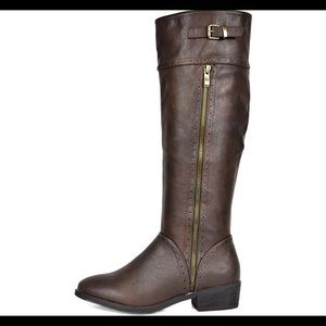 0527 Women's Koson Knee High Winter Riding Boots